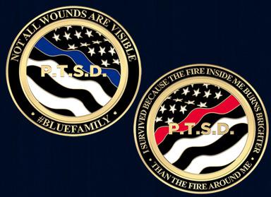 The 1stResponder PTSD Challenge Coin