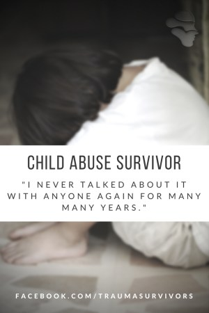 Child Abuse Survivor Story