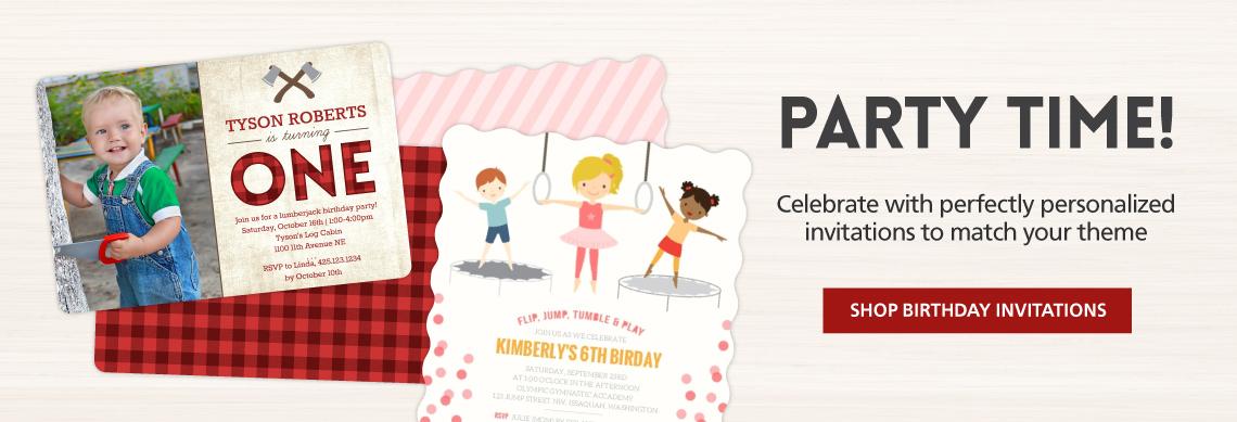 Cheap Birthday Invitations