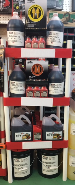 BAR AND CHAIN OIL – $6.99 A GALLON WHILE SUPPLIES LAST!