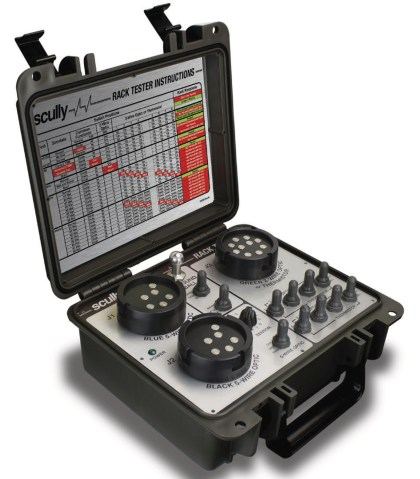 THE SCULLY UNIVERSAL RACK TESTER