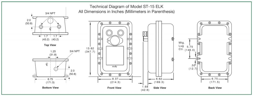 Scully Overfill And Ground, Scully Thermistor Wiring Diagram