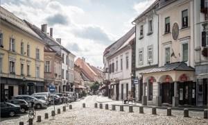 Medieval city center Ptuj