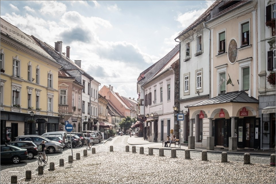 Medieval city center Ptuj