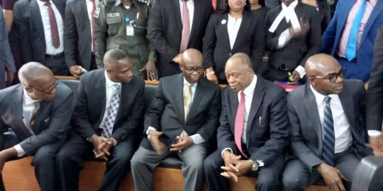BREAKING: CCT withdraws arrest warrant against Onnoghen as he pleads not guilty