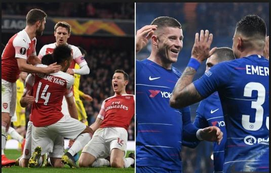 Arsenal, Chelsea go through to reach last 16 of Europa League