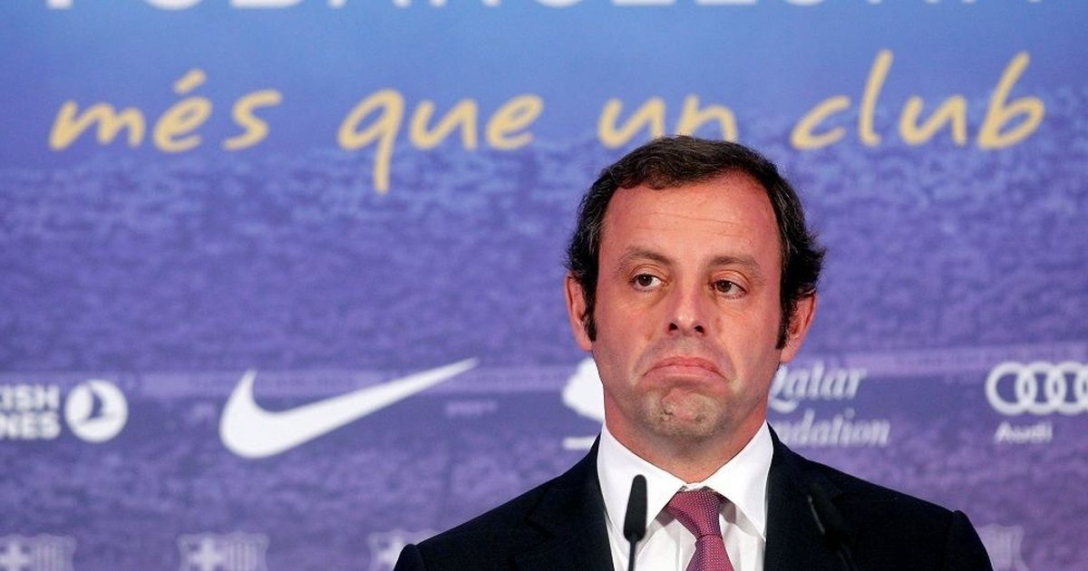 Former Barca President Rosell cleared of money laundering charges