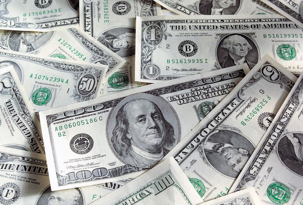 Dollar recovers after brief overnight slip