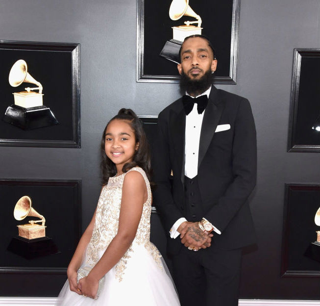 Nipsey Hussle's sister and baby mama battle over custody of daughter