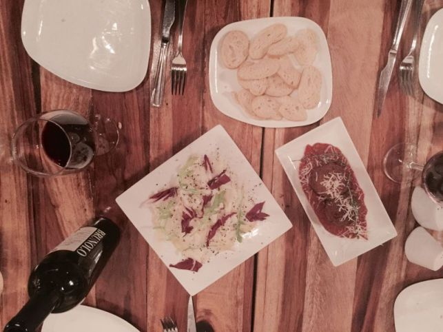Wine and Appetizers