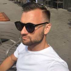 New haircut in Amsterdam