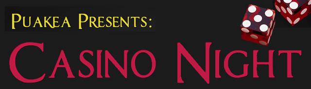 puakea casino night banner 2014