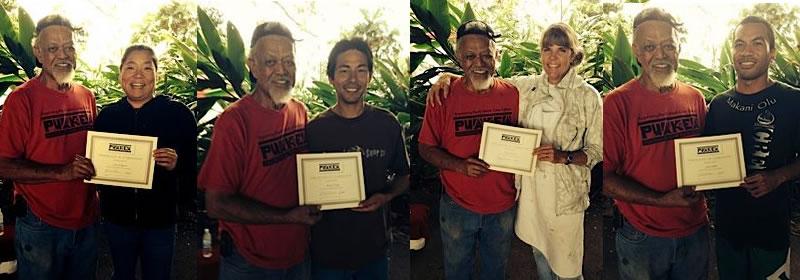 puakea paddle workshop graduates