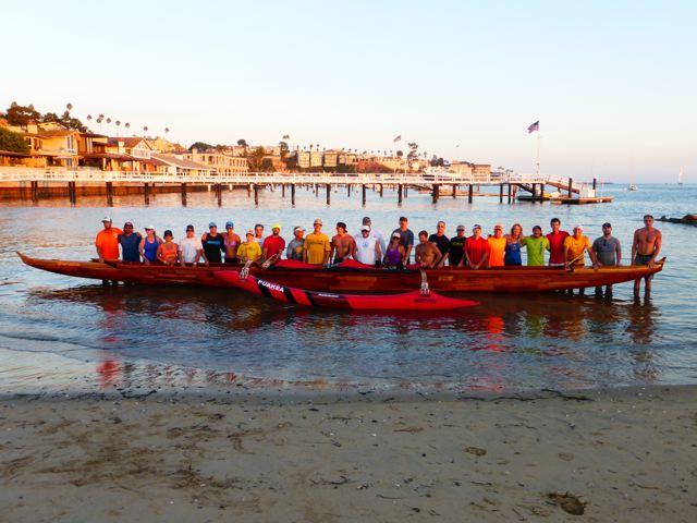 Puakea Foundation Koa Canoe Catalina Island
