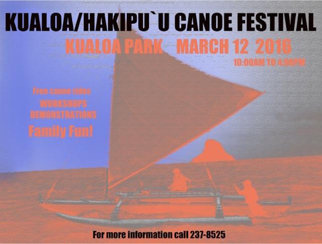 kuala canoe festival poster
