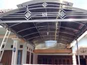 canopy stainless murah
