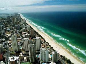 gold coast tourist town