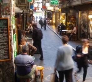 melbourne lanes cafe social