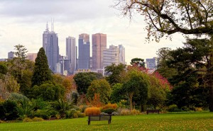 melbourne city park happy peace victoria garden