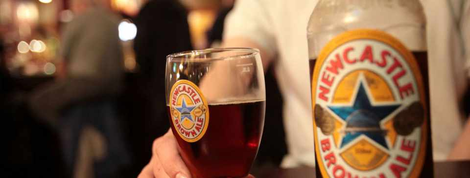 Newcastle Brown Ale Дублин ресторан Оренбург