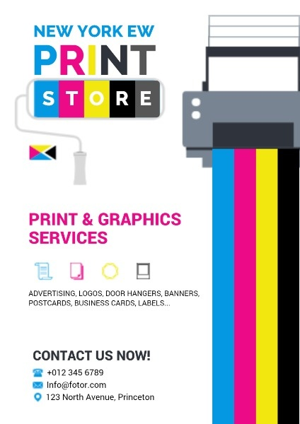 online printing service poster poster
