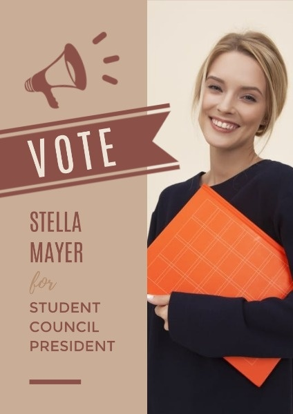 online vote student council president