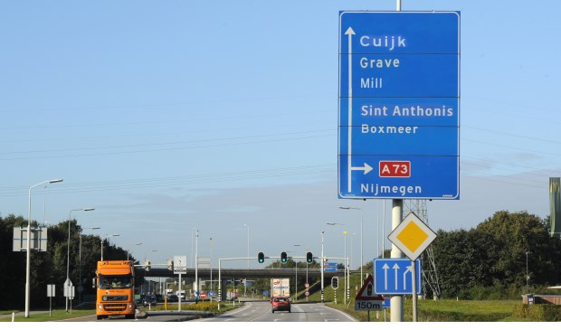 Op naar één Land van Cuijk, vindt de provincie Noord-Brabant. Foto: Ed van Alem