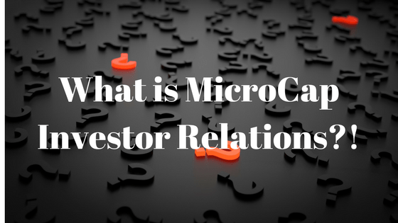MicroCap Investor Relations