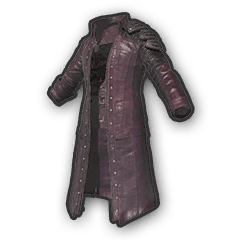 Trench Coat Red PUBGloot