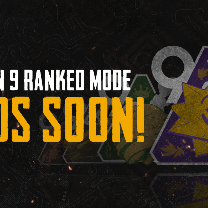 End of Season 9 Ranked and Rewards Announcement