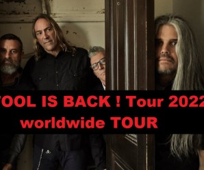 Tool is Back ! They Release USA / Europe TOUR 2022