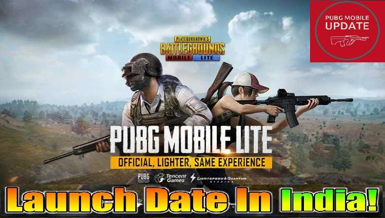 pubg mobile lite launched date in india