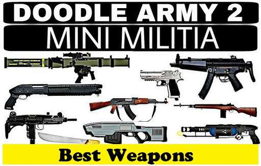 Weapons In Mini Militia Best Weapons Combination To Use Tips To Play