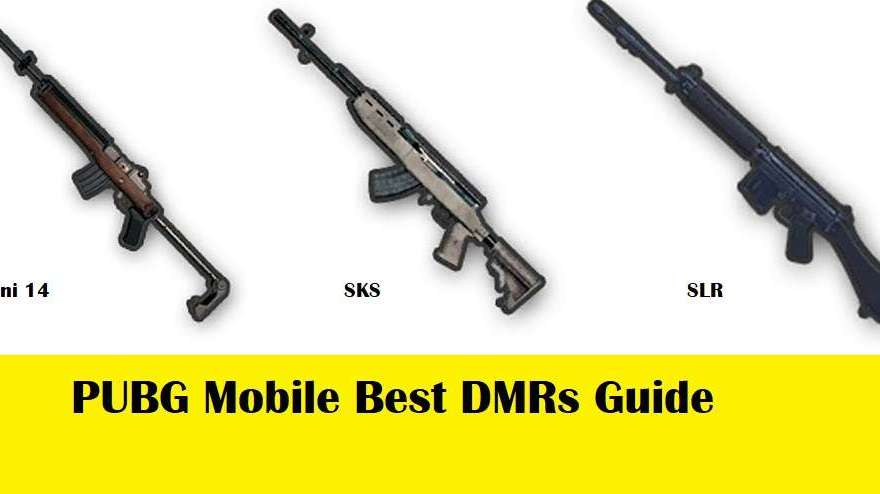 PUBG Mobile Best DMRs Guide – Which one is better to use 1