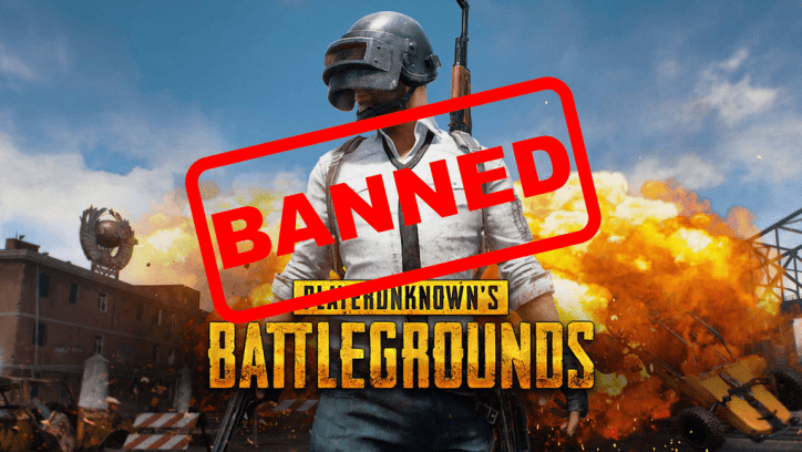 PUBG banned in China
