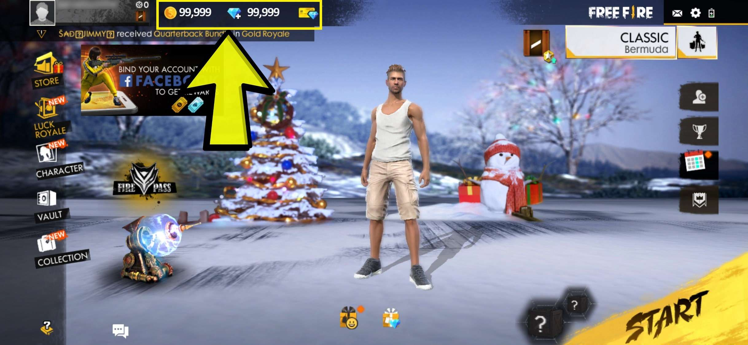 Get Unlimited Diamonds And Coins In Free Fire - Garena Free