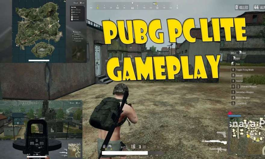 pubg pc lite gameplay