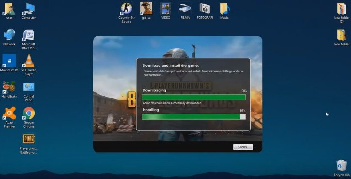 PUBG For Windows 7, 8, 10 Free Download