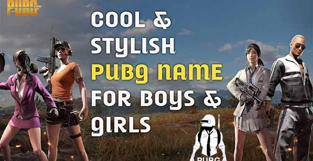 Best Pubg cool & stylish Name generator | Pubg names for couples | Best Name For Pubg