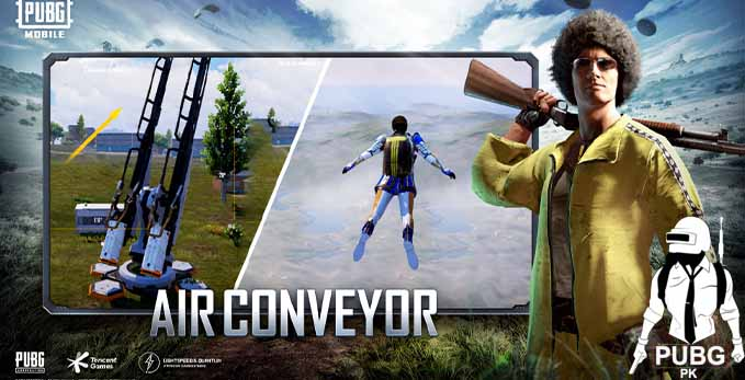 Pubg Mobile Has a New Feature Called Air Conveyor   PUBG Mobile 1.5