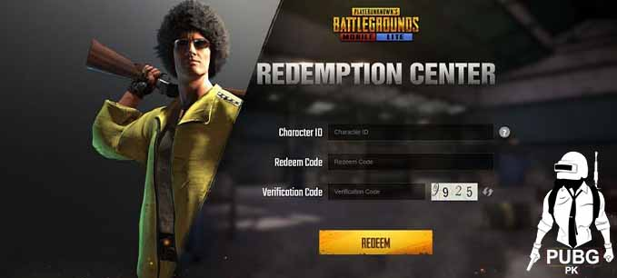 How to use redeem codes in PUBG Mobile Lite