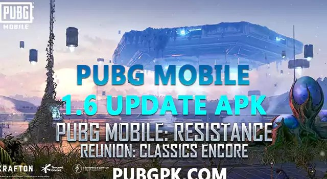 PUBG Mobile 1.6 update APK Download Link For Android