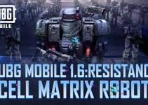 PUBG MOBILE V 1.6: Cell Matrix Robots Tips and Tricks!