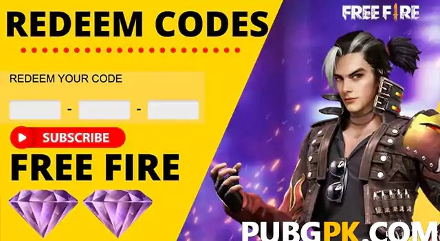Free Fire Redeem Code Generator - Get Unlimited Redeem Codes And Free Items