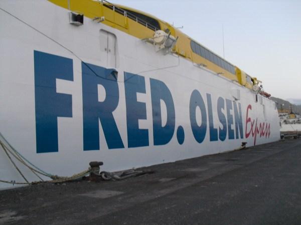 Fred Olsen Express Rotulación Barco
