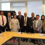 Visit from the Parliament of India