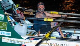 Amputee Marine Sets Record for Rowing Across the Atlantic Ocean From Europe to South America image