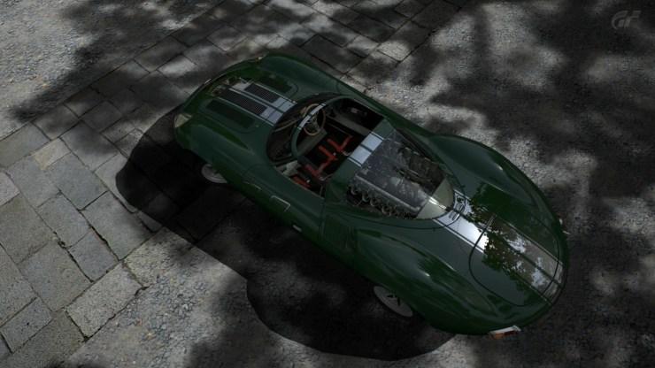 Jaguar XJ13 Race Car Chrome Line
