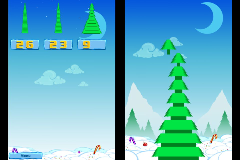 The Biggest Christmas Tree   iPhone   Android Arcade Games   PlayToMax     The Biggest Christmas Tree   Screenshot  2