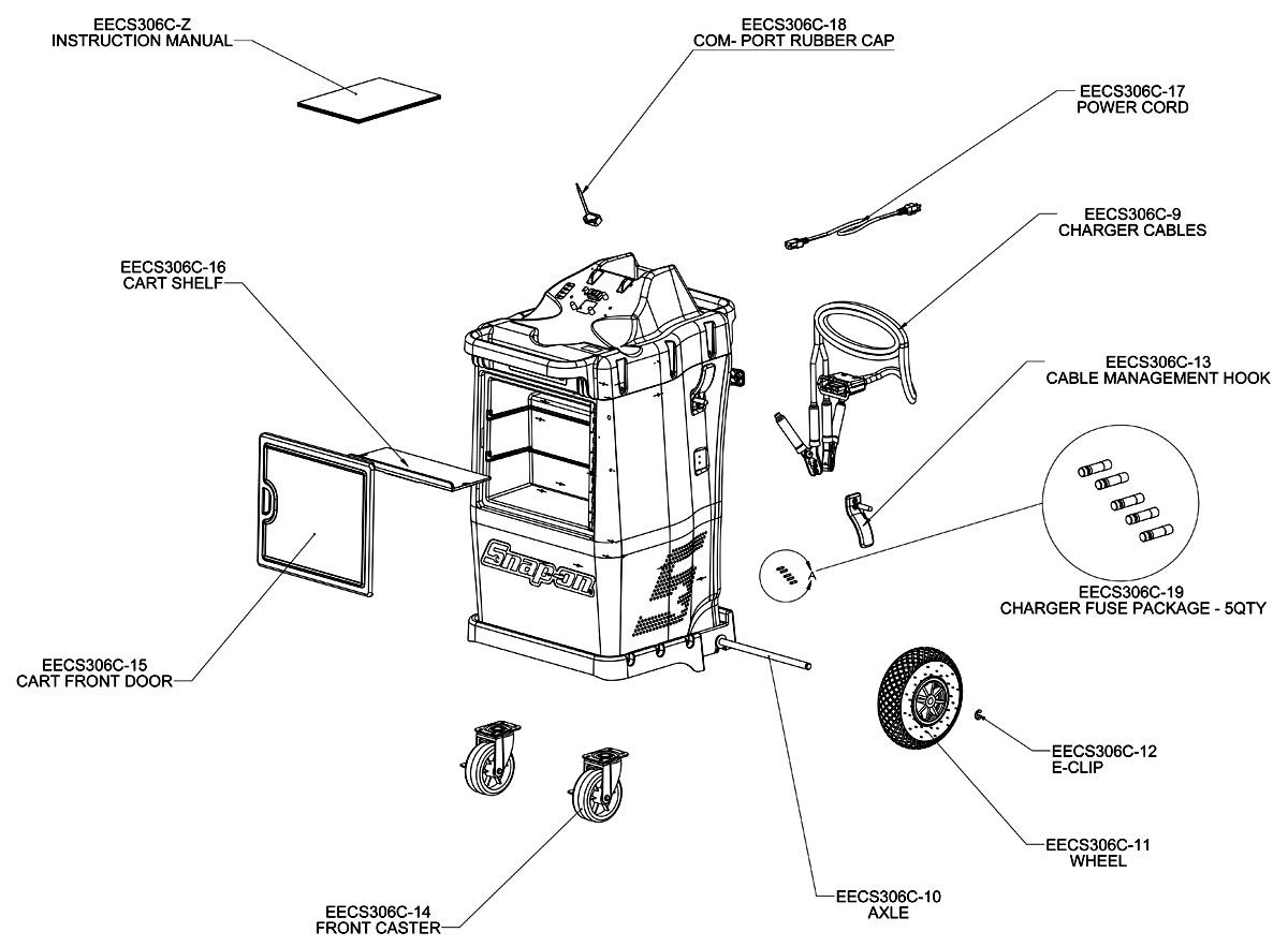 Diagnostic Tester And Charger Battery System D Tac Elite